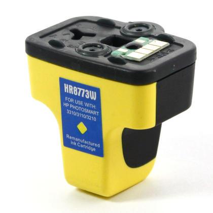 Remanufactured HP 02 C8773WN Yellow Ink Cartridge
