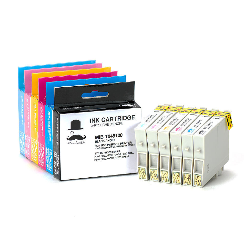 Epson T048 T0481 T0486 Compatible Ink Cartridge Combo Bkcmylc