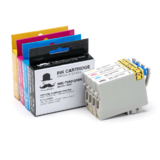 Epson T060 Compatible Ink Cartridge Combo BK/C/M/Y - Moustache®