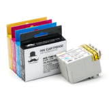 Epson T088 Compatible Ink Cartridge Combo BK/C/M/Y - Moustache®