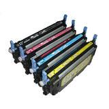 Remanufactured HP 501A-502A Toner Cartridge Combo BK/C/M/Y
