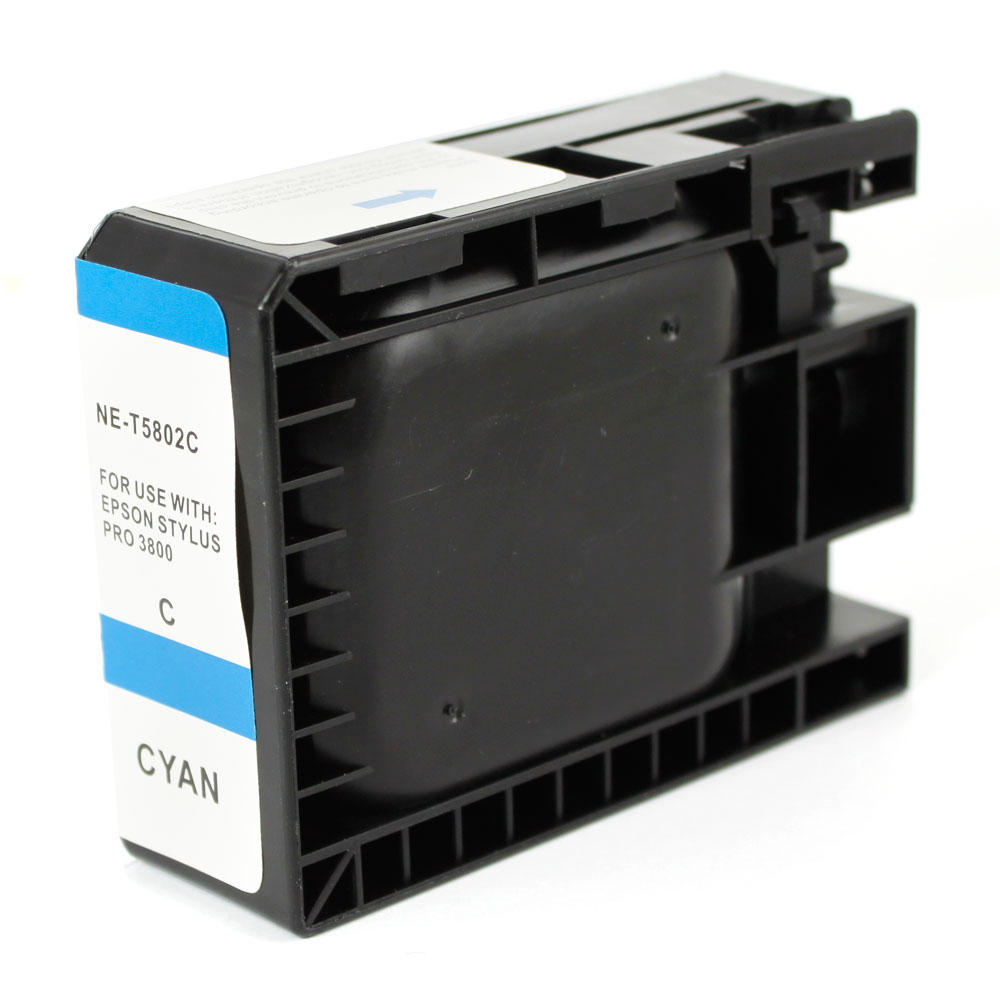 Epson T580200 New Compatible Pigment Cyan Ink Cartridge