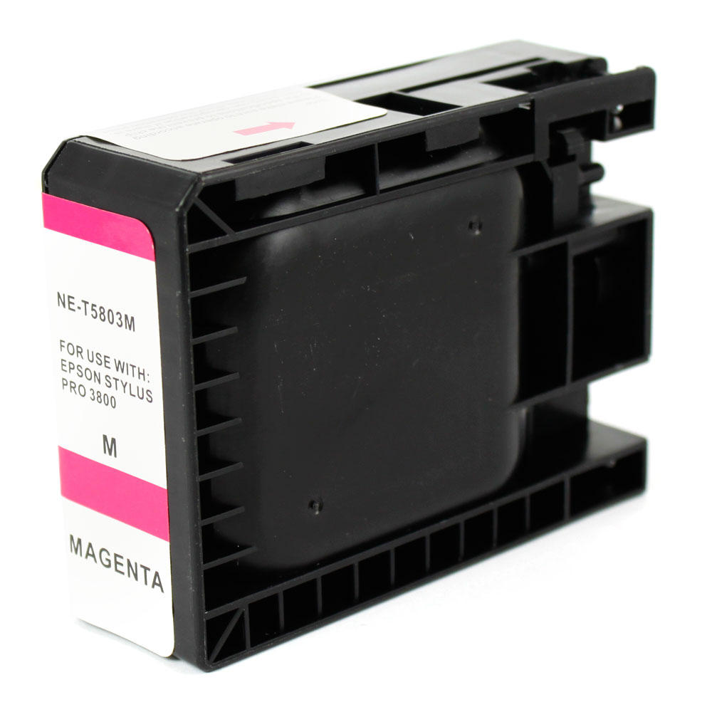 Epson T580300 New Compatible Pigment Magenta Ink Cartridge