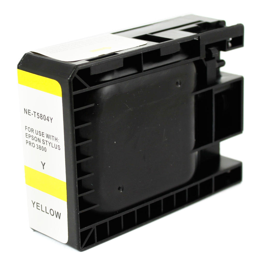 Epson T580400 New Compatible Pigment Yellow Ink Cartridge
