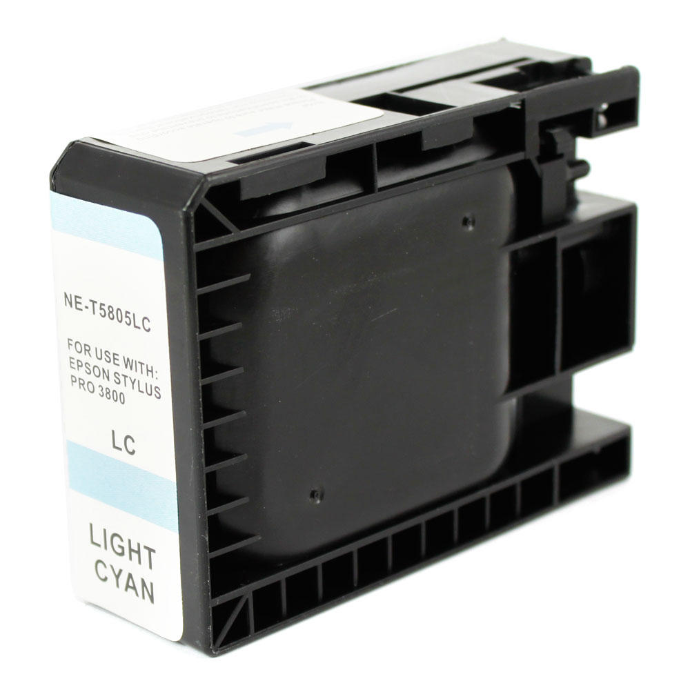 Epson T580500 New Compatible Pigment Light Cyan Ink Cartridge
