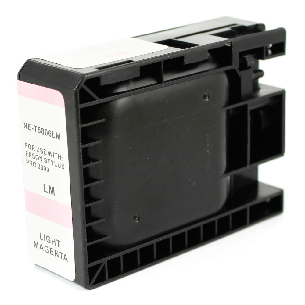 Epson T580600 New Compatible Pigment Light Magenta Ink Cartridge