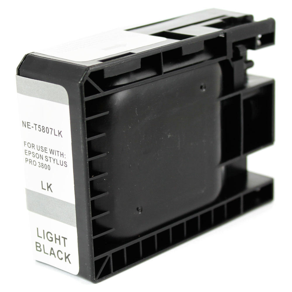 Epson T580700 New Compatible Pigment Light Black Ink Cartridge
