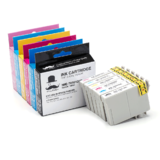 Epson T098 T099 Compatible Ink Cartridge Combo BK/C/M/Y/LC/LM - Moustache®