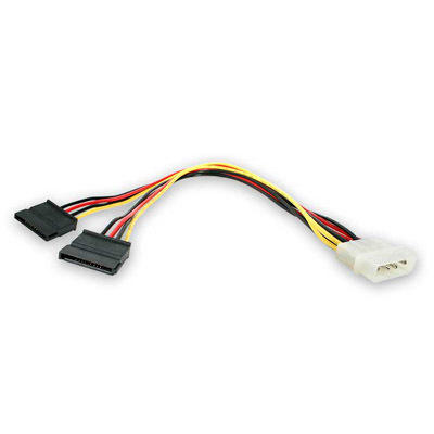 Y-type power cable for 2 x SATA HDD's - Monoprice