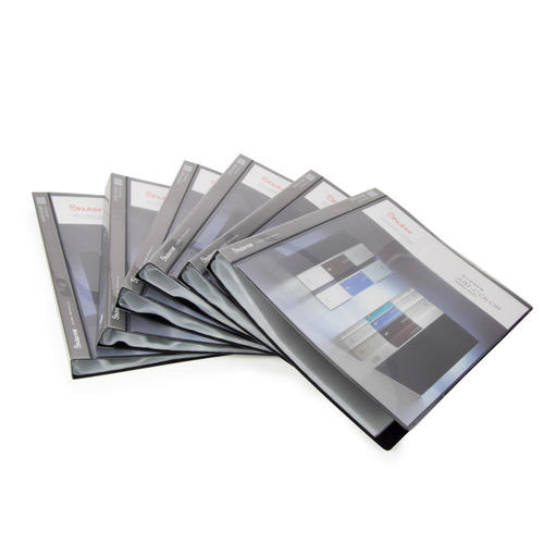 Shuter Showfile Black Presentation Books 40 Pockets 6 Covers Per Pack