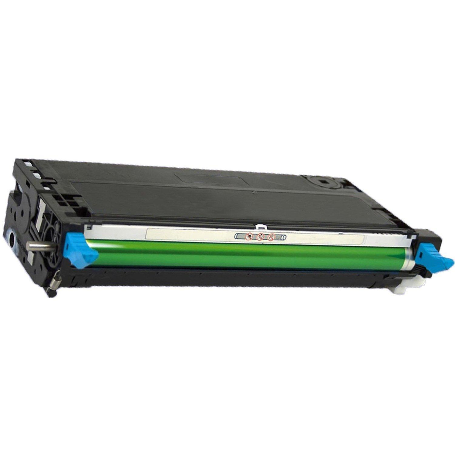 Dell 310-8094 Compatible (Remanufactured) Cyan Toner Cartridge High Yield