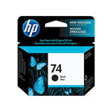 HP 74 Original Black Ink Cartridge (CB335WN)