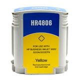 Remanufactured HP 12 C4806A Yellow Ink Cartridge