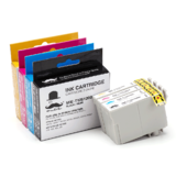 Epson T125 Compatible Ink Cartridge Combo BK/C/M/Y - Moustache®