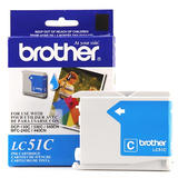 Brother LC51C Original Cyan Ink Cartridge