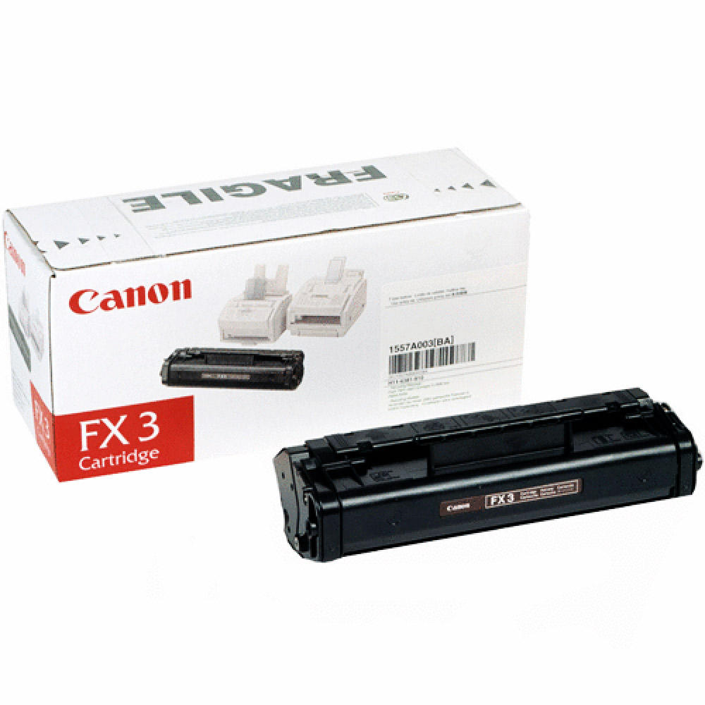 Canon FX3 1557A002AA Original Black Toner Cartridge