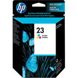 HP 23 C1823D Original Tri-Color Ink Cartridge