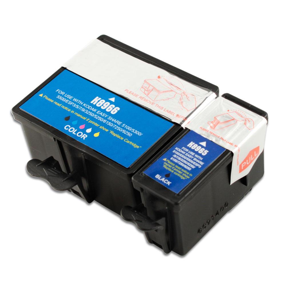 Kodak 10XL 8965 8966 Compatible Black and Color Ink ...