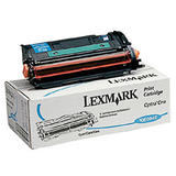 Lexmark 10E0040 Original Cyan Toner Cartridge