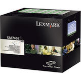 Lexmark 12A7462 Original Black Return Program Toner Cartridge High Yield