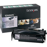 Lexmark 12A8425 Original Black Return Program Toner Cartridge High Yield