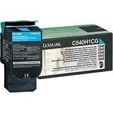 Lexmark C540H1CG Original Cyan Return Program Toner Cartridge High Yield