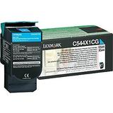 Lexmark C544X1CG Original Cyan Return Program Toner Cartridge High Yield