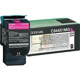 Lexmark C544X1MG Original Magenta Return Program Toner Cartridge High Yield
