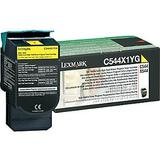 Lexmark C544X1YG Original Yellow Return Program Toner Cartridge High Yield