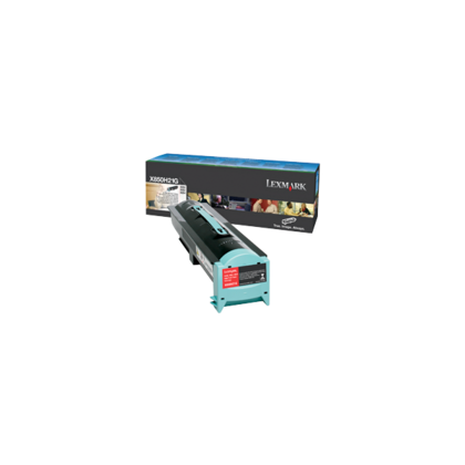 lexmark x850h21g original black toner cartridge