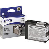 Epson T580800 Original Matte Black UltraChrome Ink Cartridge for Stylus Pro 3800 Printer