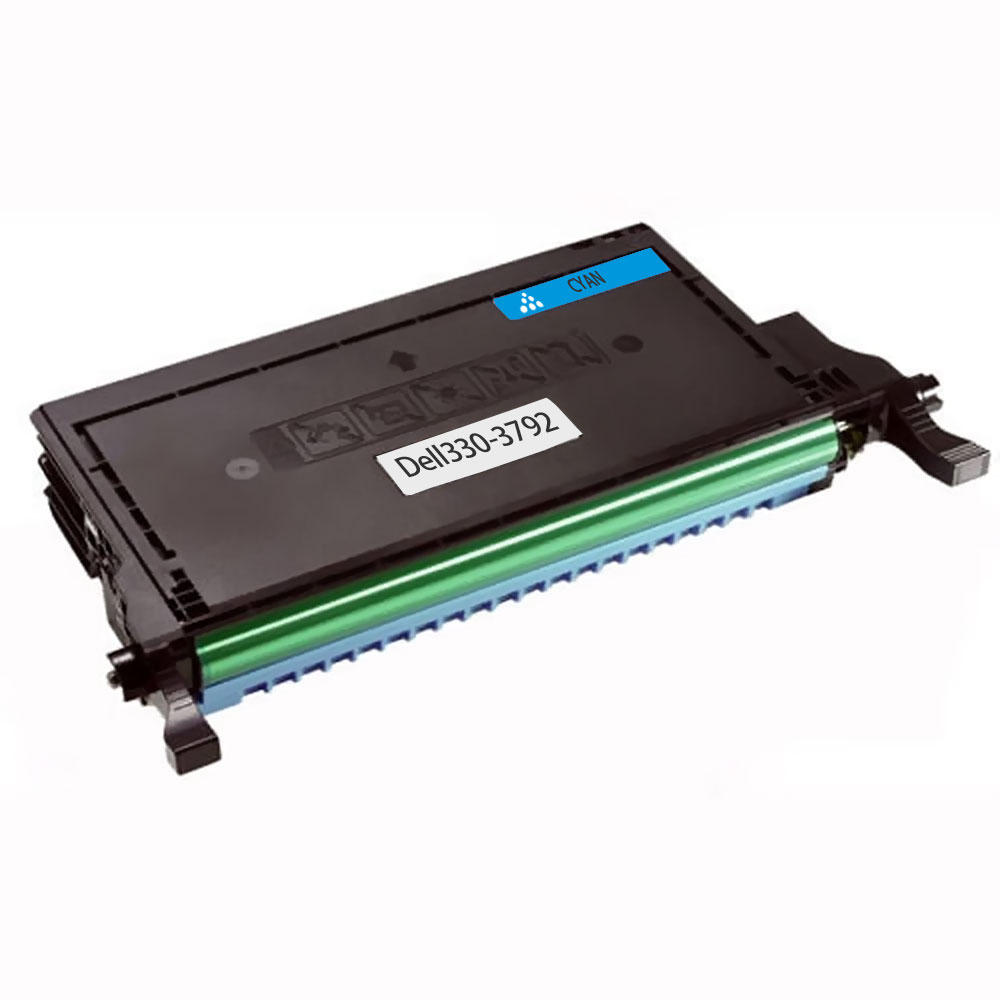 Dell 330-3792 330-3788 P587K Remanufactured Cyan Toner Cartridge for Dell 2145cn Printer