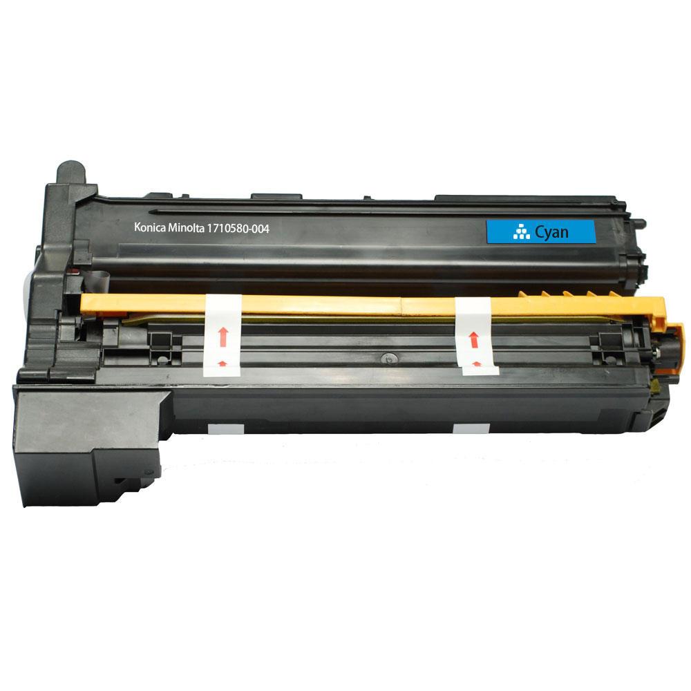 Konica-Minolta 1710580-004 Remanufactured Cyan Toner Cartridge