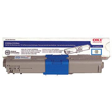Okidata 44469703 Type C17 Original Cyan Toner Cartridge