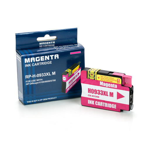 Medium Plus 8baf3 Hp 933xl M Officejet 6100 Cn055an Remanufactured Compatible Magenta Ink Cartridge