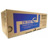 Kyocera-Mita TK592C originale Cyan Toner Cartridge