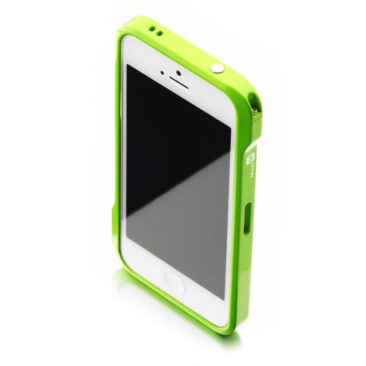 Esoterism Moat-5 Aluminum Bumper for iPhone SE & iPhone 5|5S, Neon Hopper Fortune
