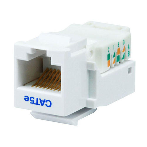 cat5e rj45 toolless keystone jack white primecables rh primecables ca