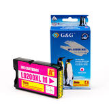 Lexmark 14L0199 14L0652 14L0176 A Version Compatible Magenta Ink Cartridge - G&G™