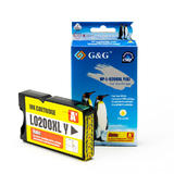 Lexmark 14L0200 14L0653 14L0177 A Version Compatible Yellow Ink Cartridge - G&G™