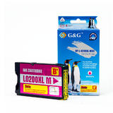 Lexmark 14L0199 14L0652 14L0176 B Version Compatible Magenta Ink Cartridge - G&G™