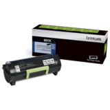 Lexmark 60F1X00 (601X) Original Extra High-Yield Black Return Program Laser Toner Cartridge