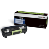 Lexmark 50F1U00 (501U) Original Ultra High-Yield Black Return Program Laser Toner Cartridge