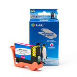 Dell 331-7379 / T9FKK New Compatible Magenta Ink Cartridge Extra High Yield (Series 33/34) - G&G™