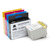 Epson 200XL T200XL Compatible Ink Cartridges Combo High Yield BK/C/M/Y - Moustache®