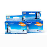 Kodak 10 Compatible Black and Color Ink Cartridge Combo - G&G™