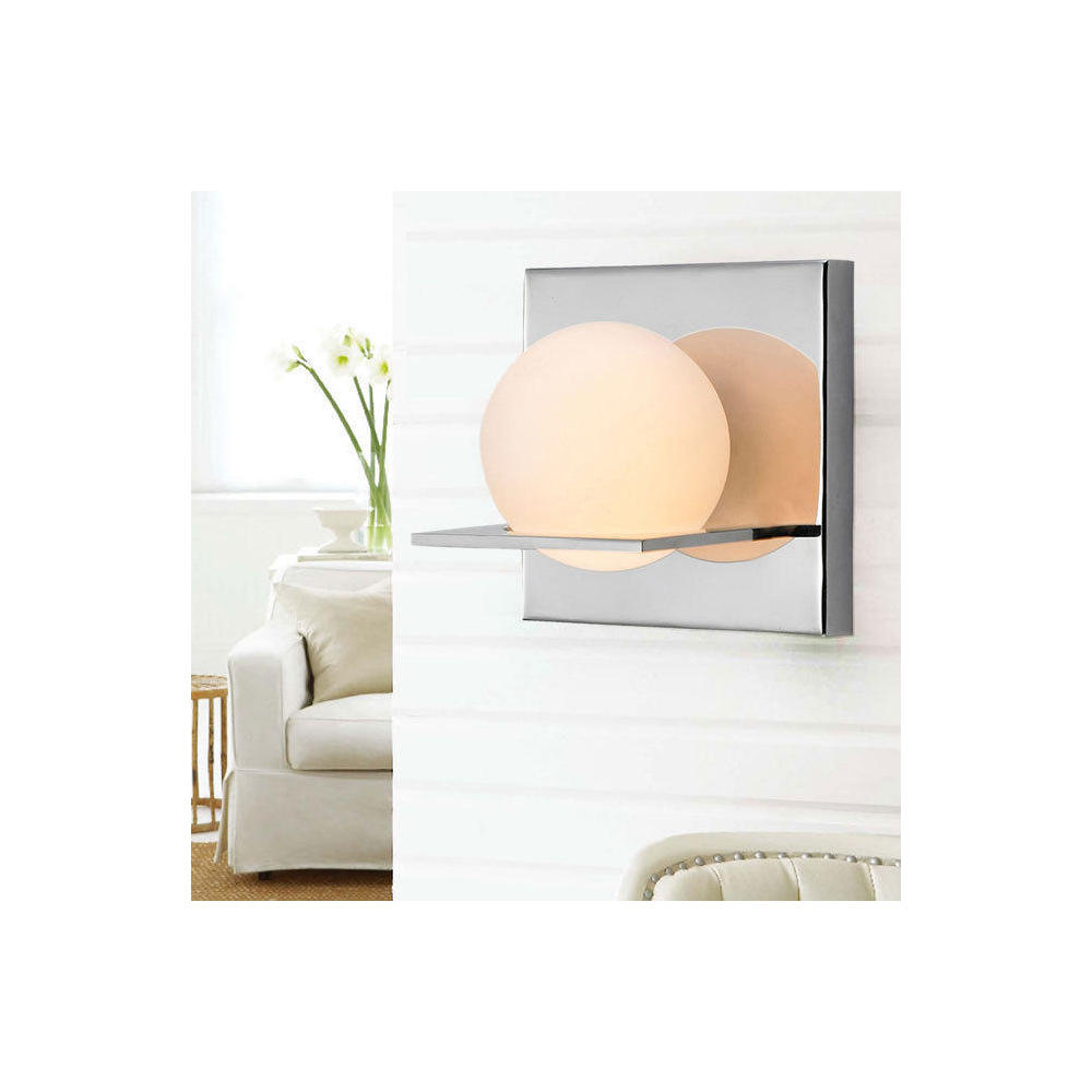 glass ball chrome  light wall lamp modern style at lightingbox  - sharethis copy and paste