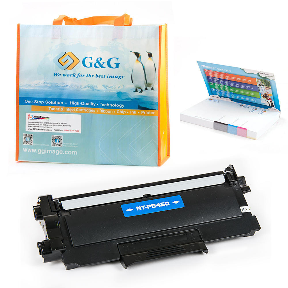 G&G™ Premium Brother TN-450 New Compatible Black Toner Cartridge ...