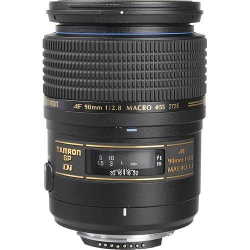 Tamron SP 90mm f/2.8 Di Macro Autofocus Lens for Canon