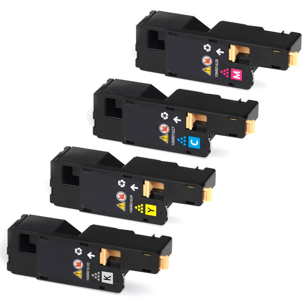 Xerox 106r01627 106r01628 106r01629 106r01630 compatible toner cartridge combo 123inkcartridges canada